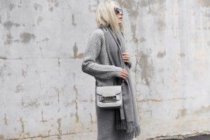 sivá farba oblečenia
