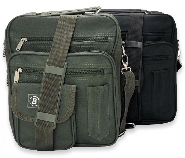 Pánska taška z nylonu Bellugio - zelená
